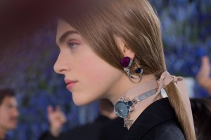 Christian Dior Earring & Choker