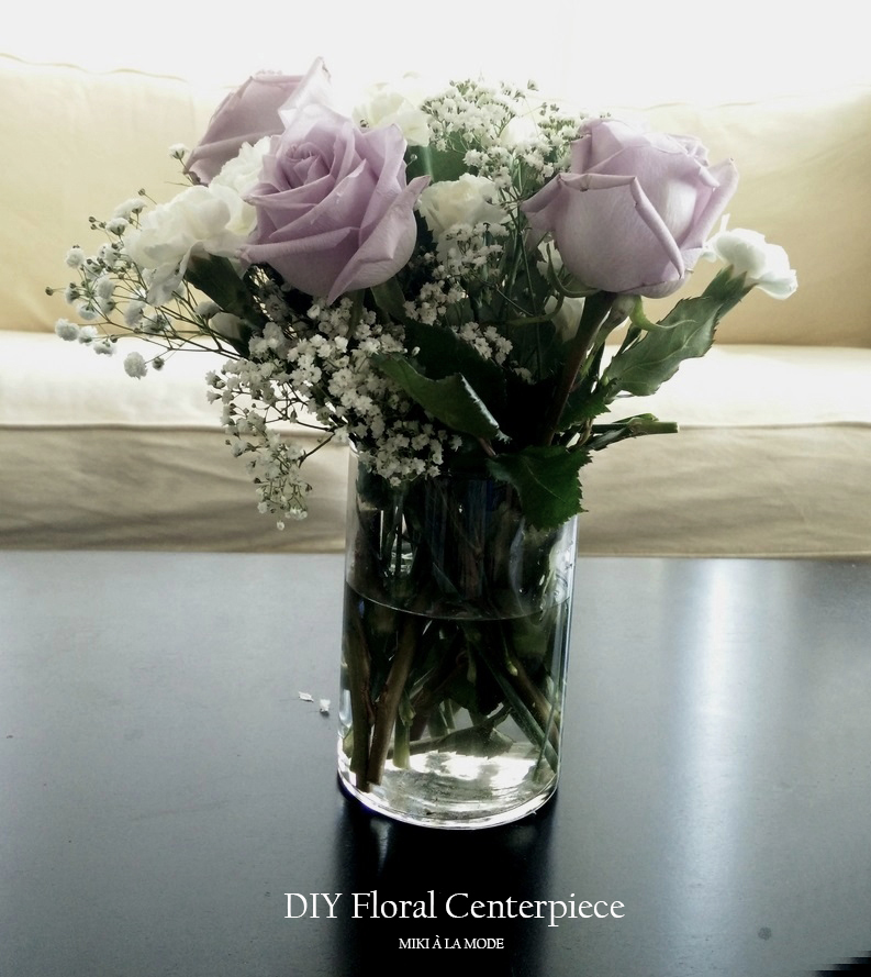 Diy floral centerpiece home decor for coffee table