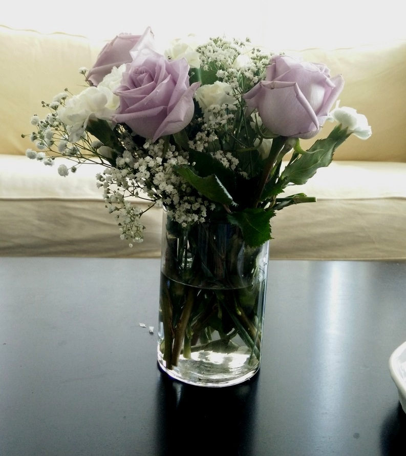Floral Bouquet Coffee Table Arrangement