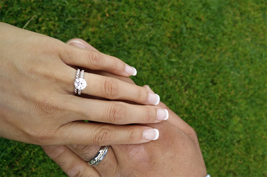 Destination Wedding Miki Engagement Ring