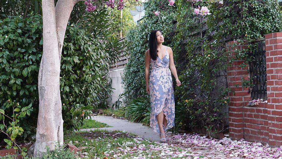 Spring Wrap Dress mikialamode style blog