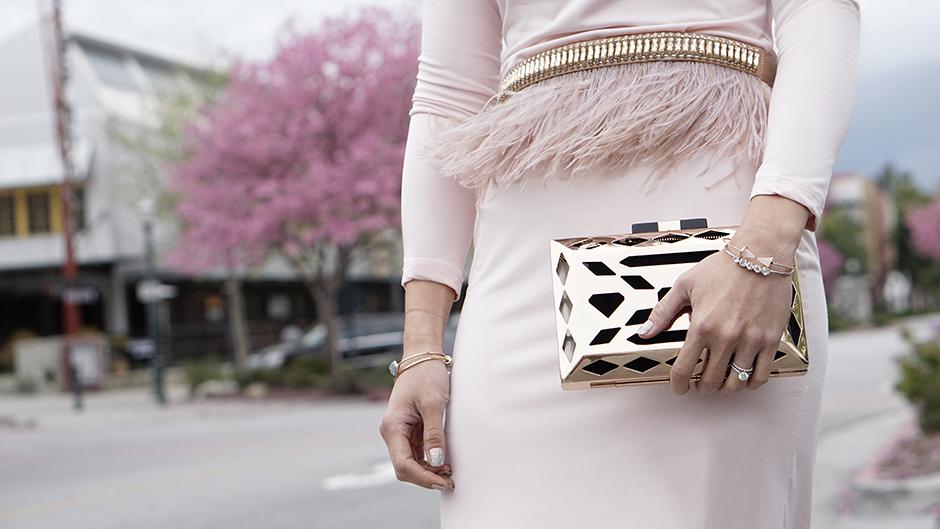 Rose Gold Pink Details