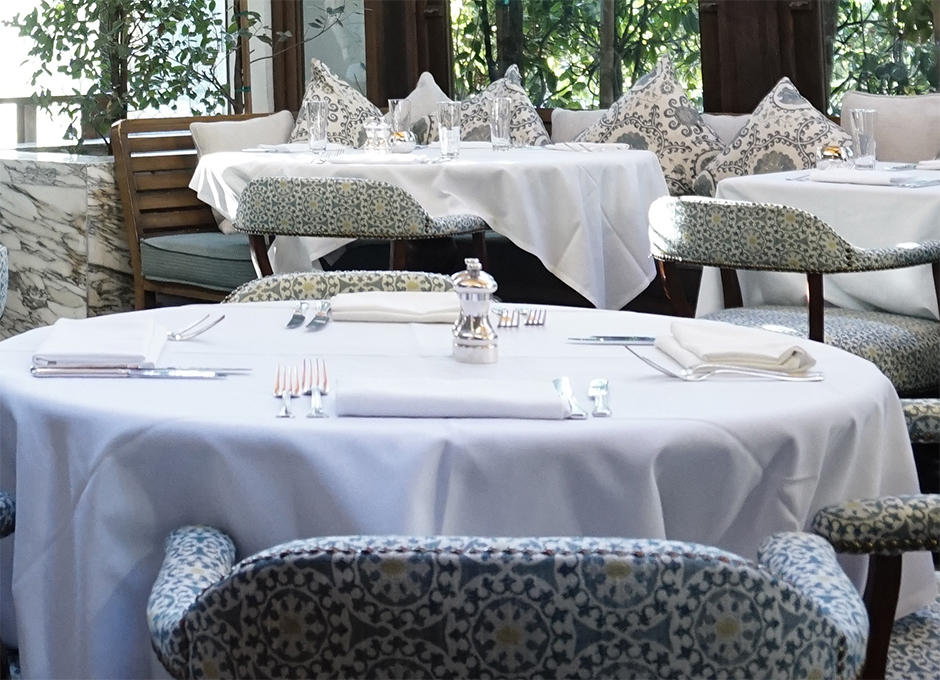 Cecconis West Hollywood Seating