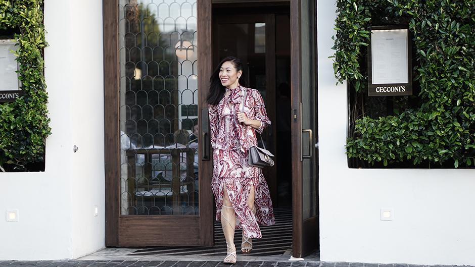 Olivia Palermo Chelsea28 dress mikialamode