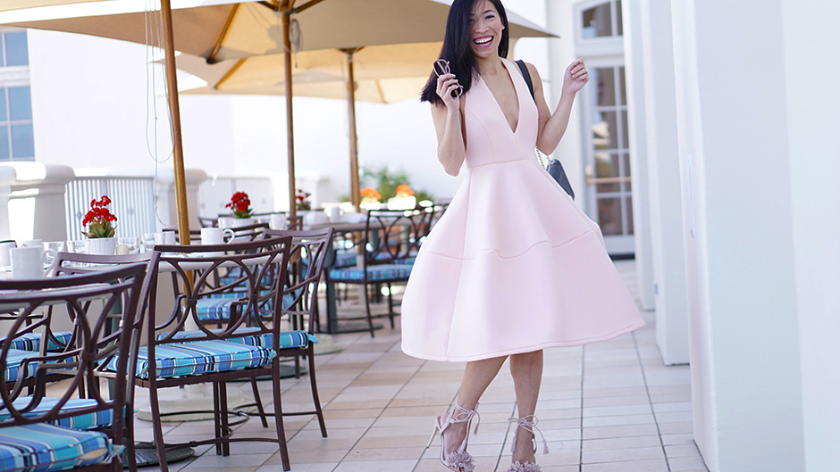 SheIn Pink Cocktail Dress