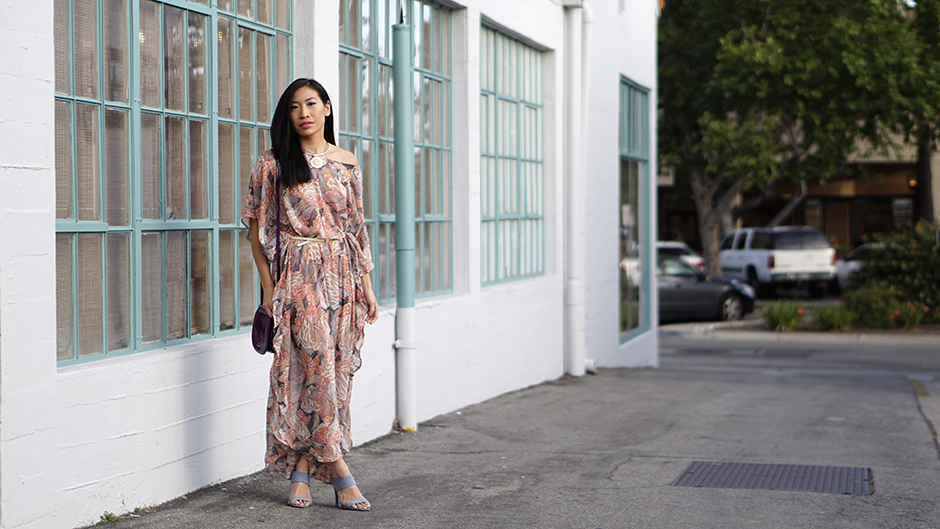 Patterned Caftan
