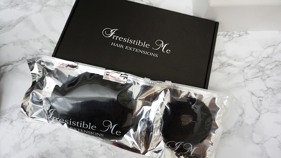 Irresistible Me Hair Extensions Packaging