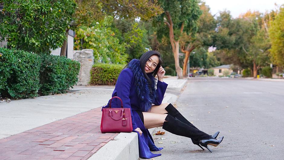How to Wear a Jewel Tone Coat