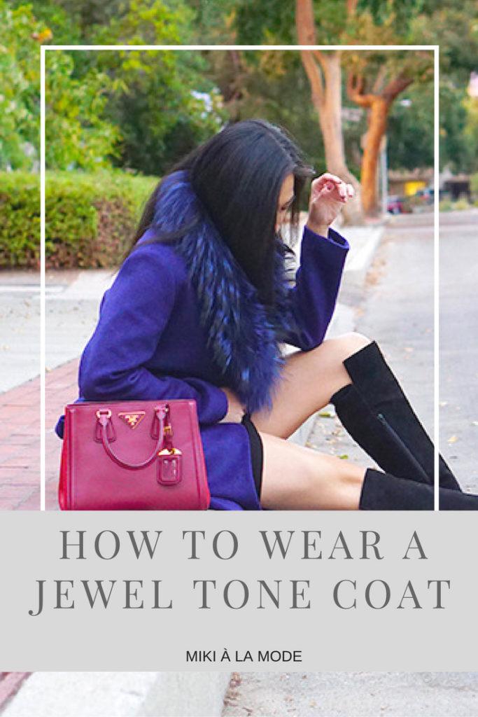 how-to-wear-a-jewel-tone-coat