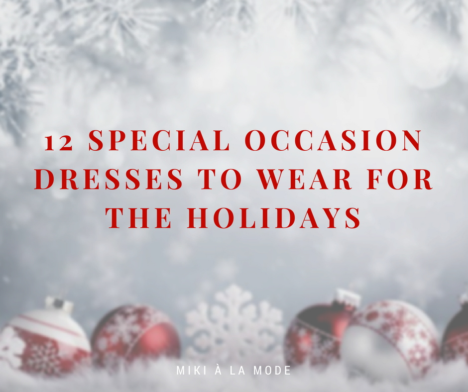12 Dresses to Wear to a Holiday Party