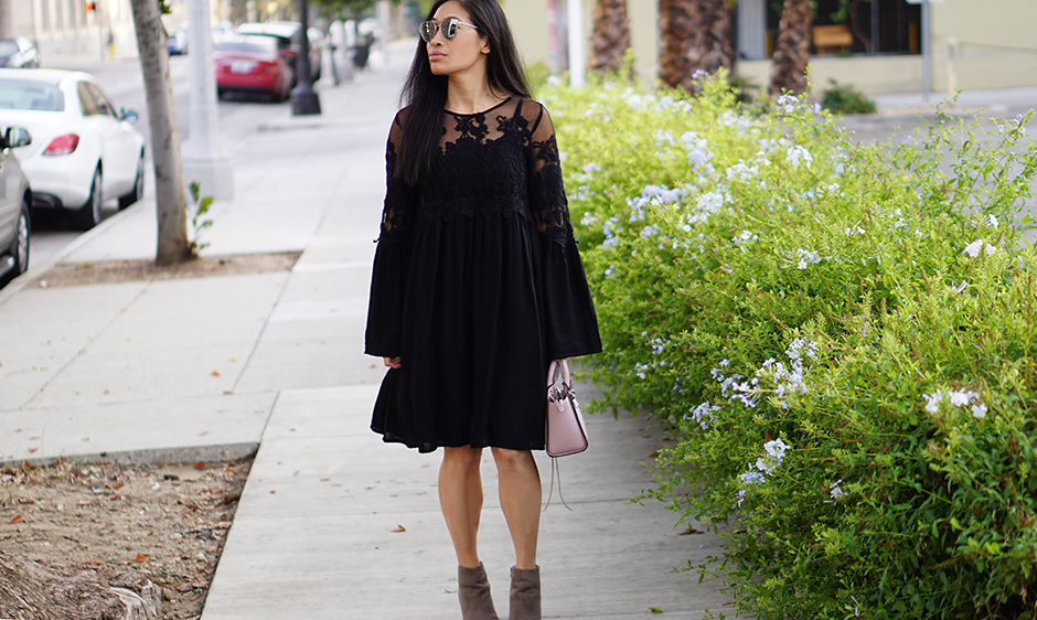 boho-black-lace-dress