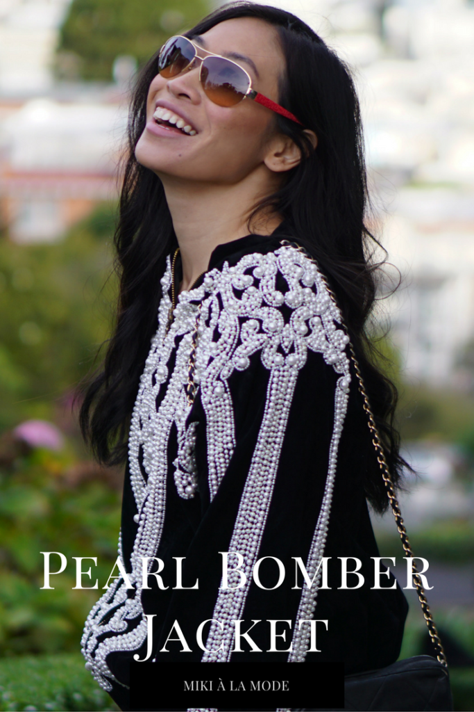 The Pearl Bomber Jacket