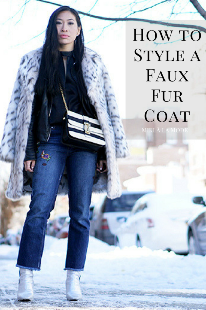 How to Style Faux Fur #fashion #fashionblogger #outfit #NYFW