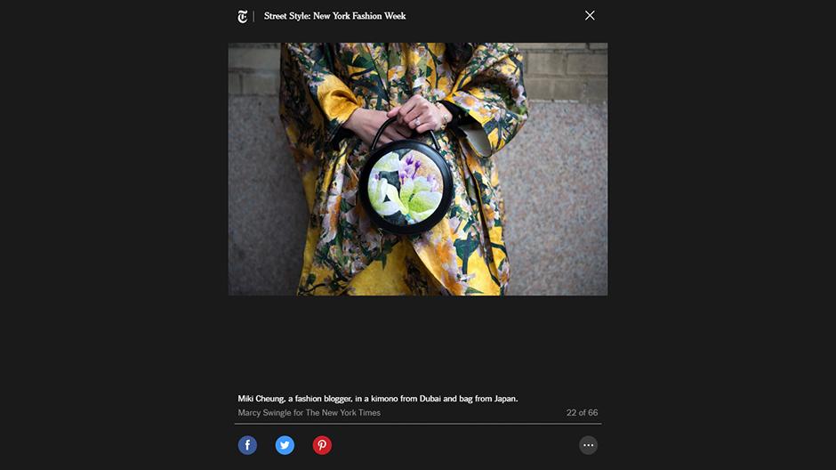 New York Times Fashion for New York Fashion Week | NYFW | Miki Cheung