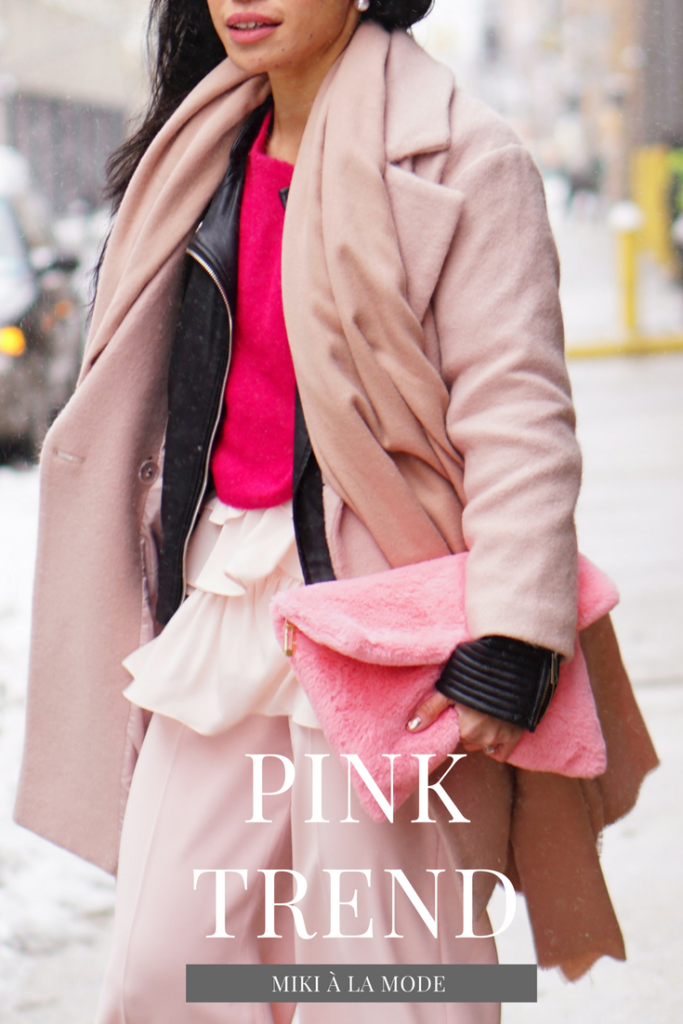 PINK TREND FASHION OUTFITS BLOGGER