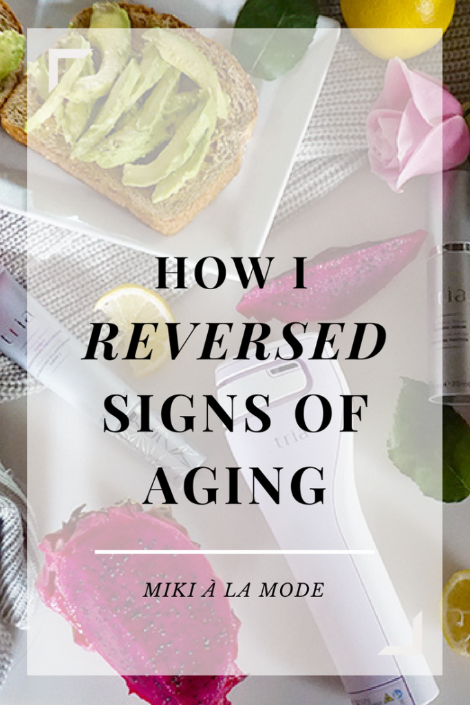 Anti Aging - Antiwrinkle. Reversing signs of aging