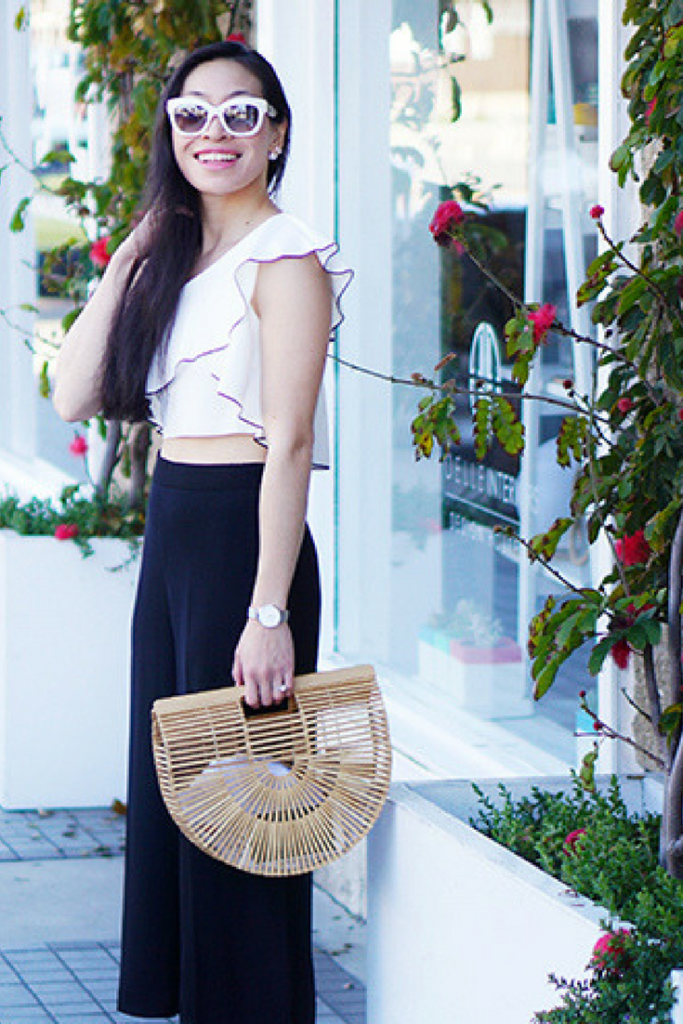 Ruffles & Statement Bag | Fashion, Style & Travel Blog | mikialamode.com