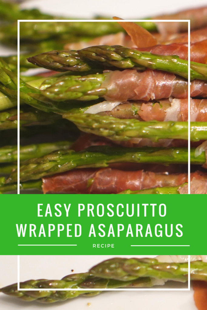 Easy Proscuitto Wrapped Asparagus BBQ Recipe #shop #cbias #bbq #ad #recipes #IceColdSummerMoments