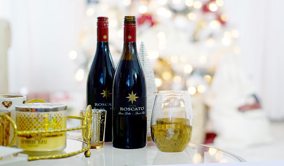 Roscato Wine Sweeten Up The Holidays #ad #wine #sparklingwine #italianwine #fashionblog #lifestyleblog #styleblog #christmasideas #christmasinspo #holidayinspo #holidayideas